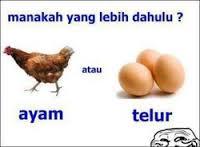 ayam telur kartun