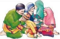 keluarga muslim kartun